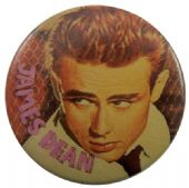 James Dean - 'James Fence' Button Badge